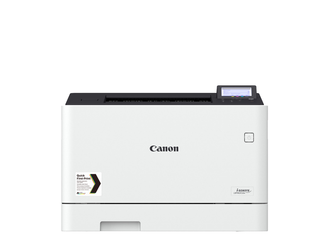 Canon i-SENSYS LBP663Cdw printer available ot lease or purchase.