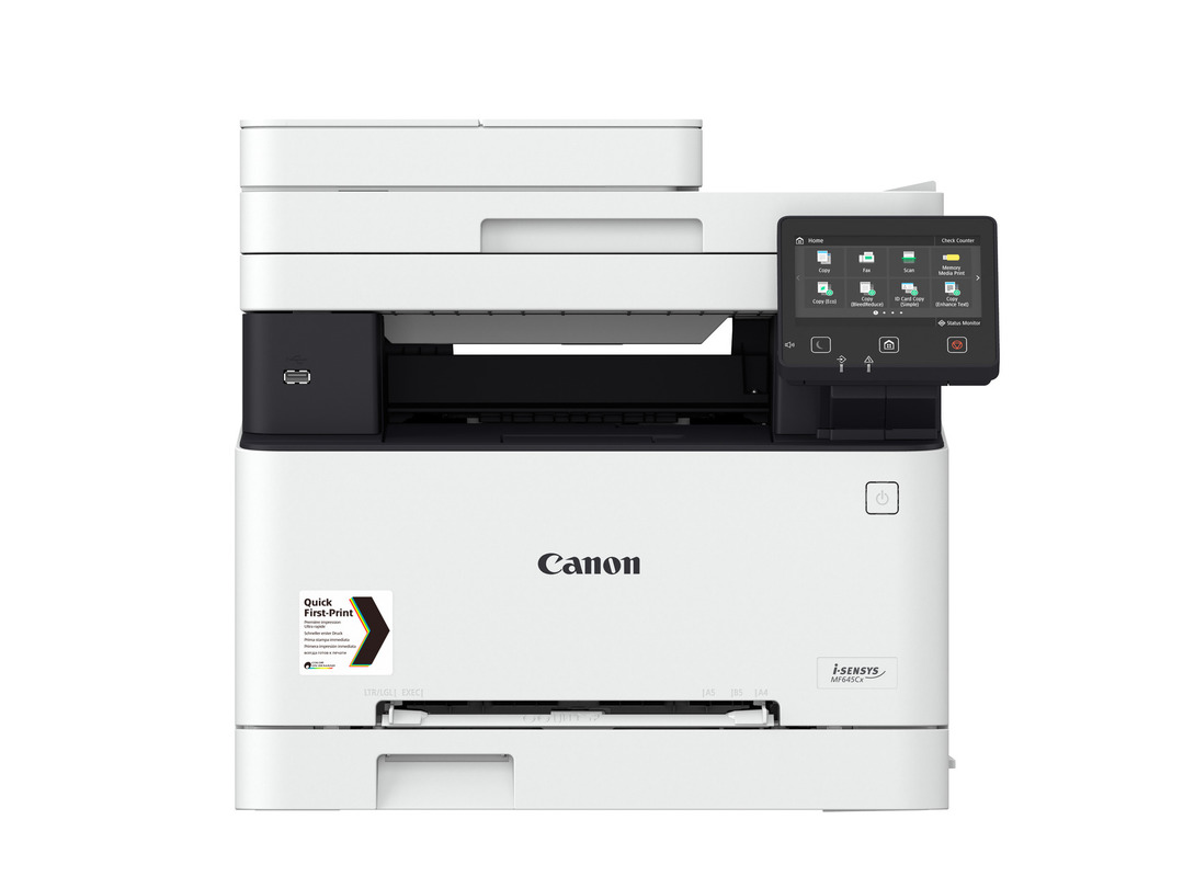 Canon i-SENSYS MF645Cx printer available ot lease or purchase.