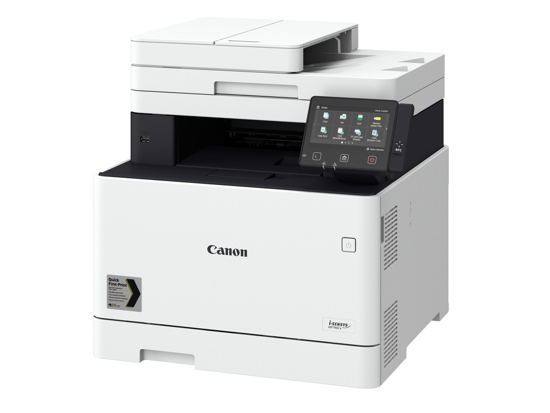 Canon i-SENSYS MF742Cdw printer available ot lease or purchase.