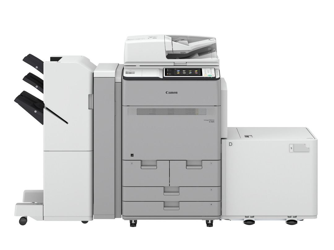 Canon imagePRESS C165 printer available ot lease or purchase.