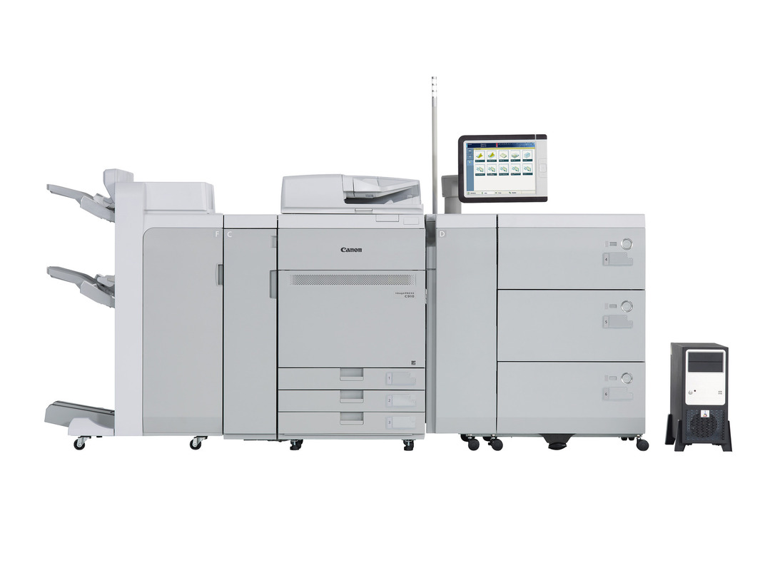 Canon imagePRESS C810 printer available ot lease or purchase.