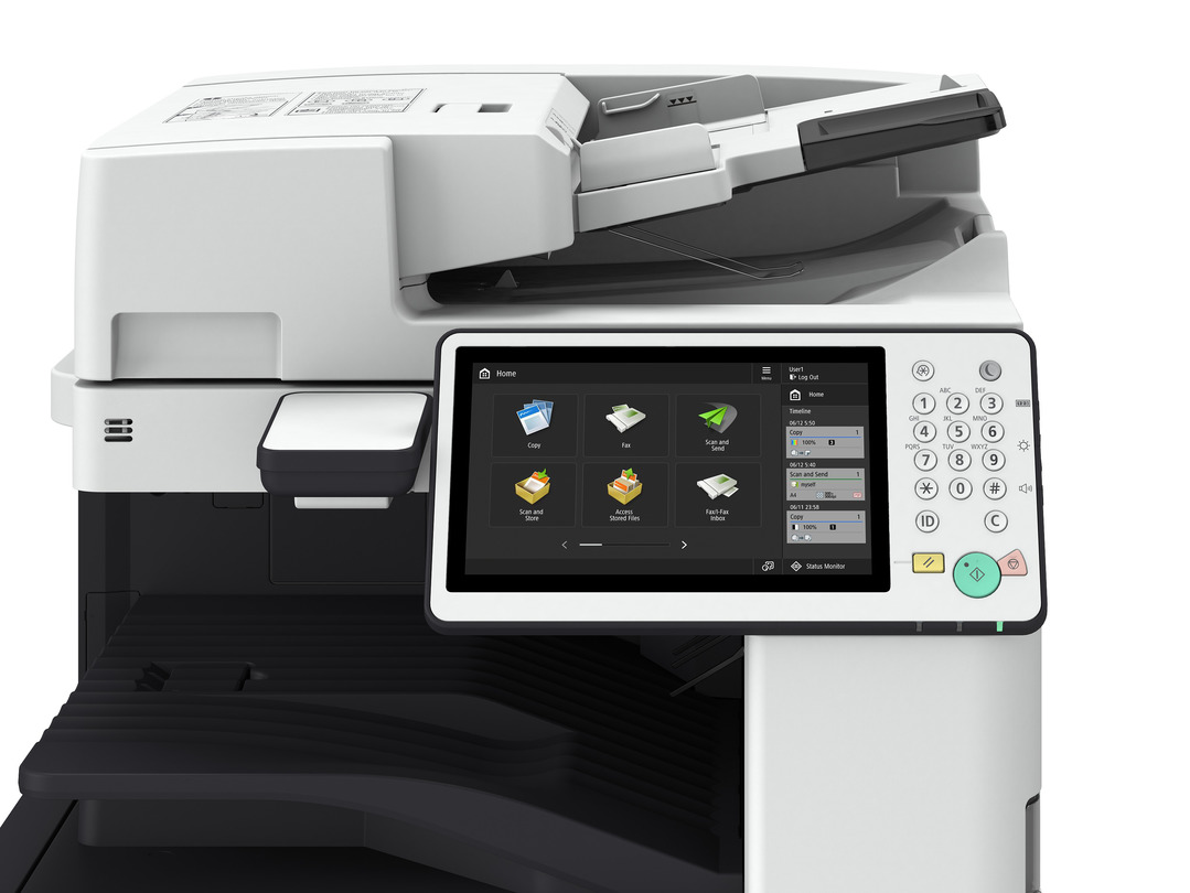 Canon imageRUNNER ADVANCE C5550i III printer available ot lease or purchase.