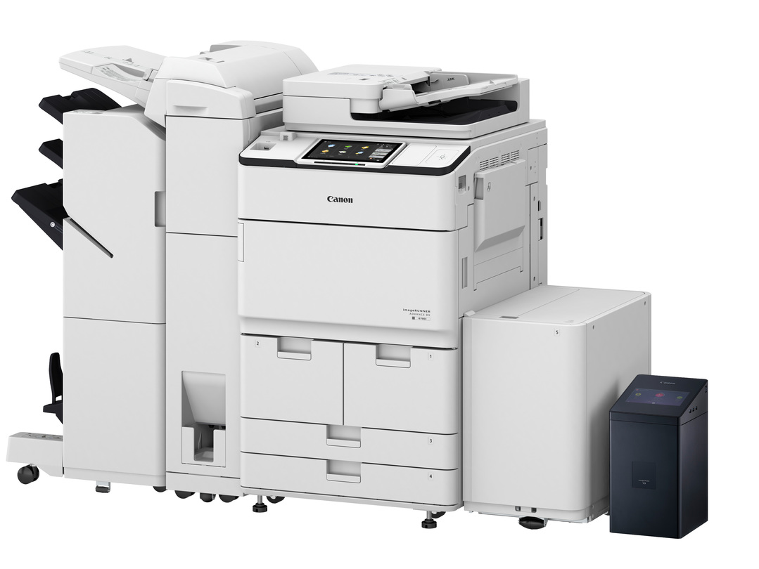 Canon imageRUNNER ADVANCE DX 6755i printer available ot lease or purchase.