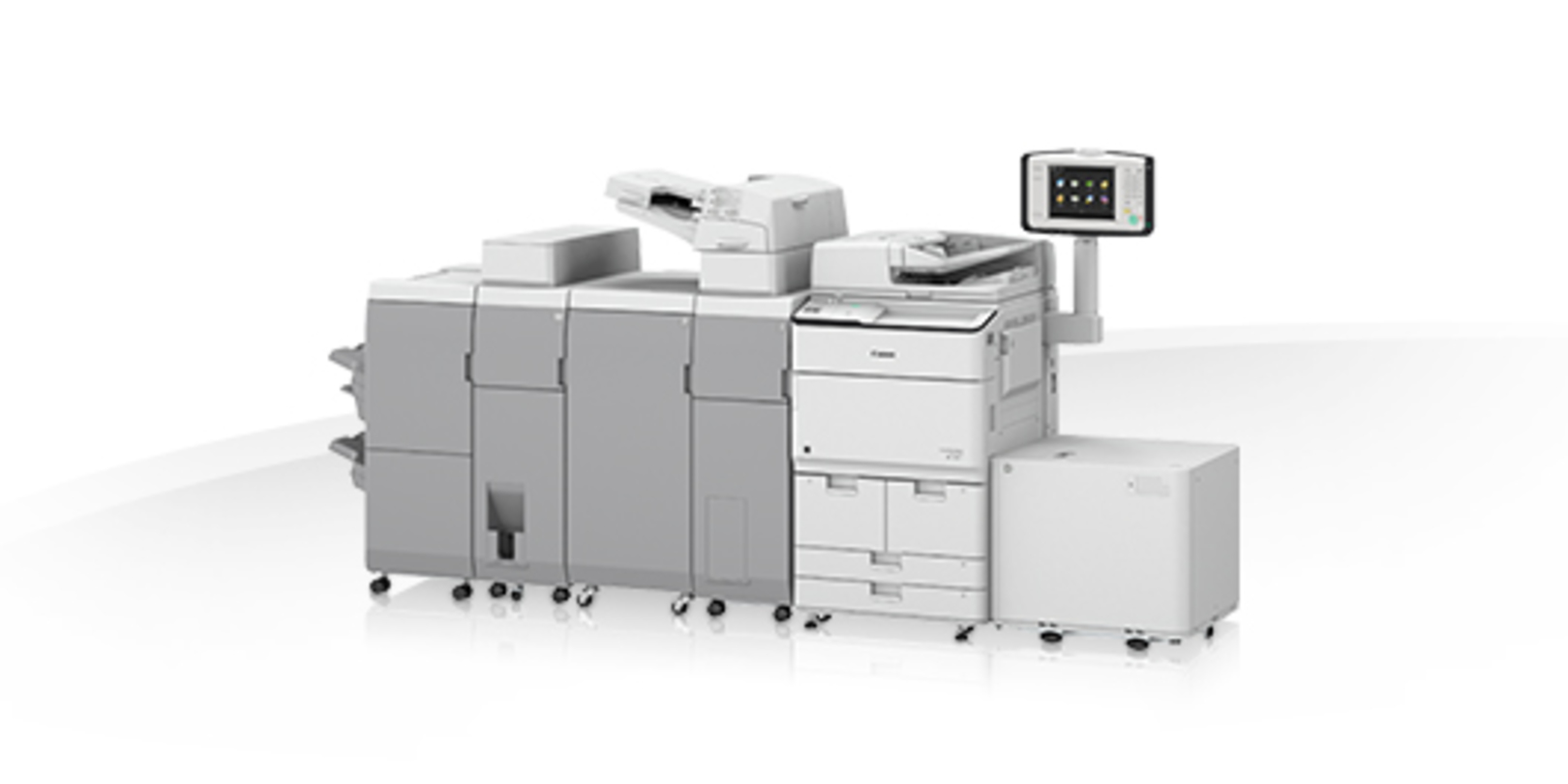 Canon imageRUNNER ADVANCE DX 8705 printer available ot lease or purchase.
