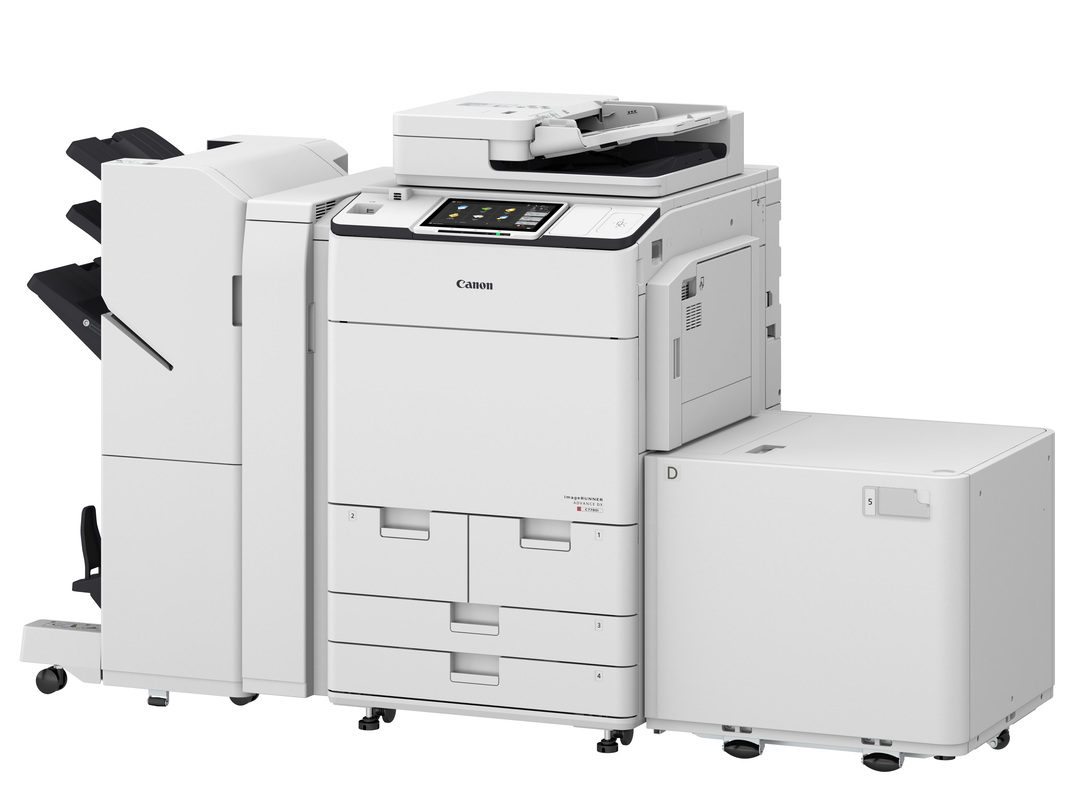 Canon imageRUNNER ADVANCE DX C7770i printer available ot lease or purchase.