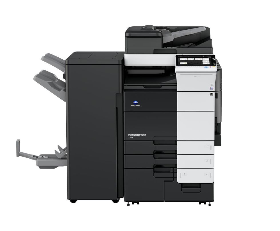 Konica Minolta AccurioPrint C759 printer available ot lease or purchase.