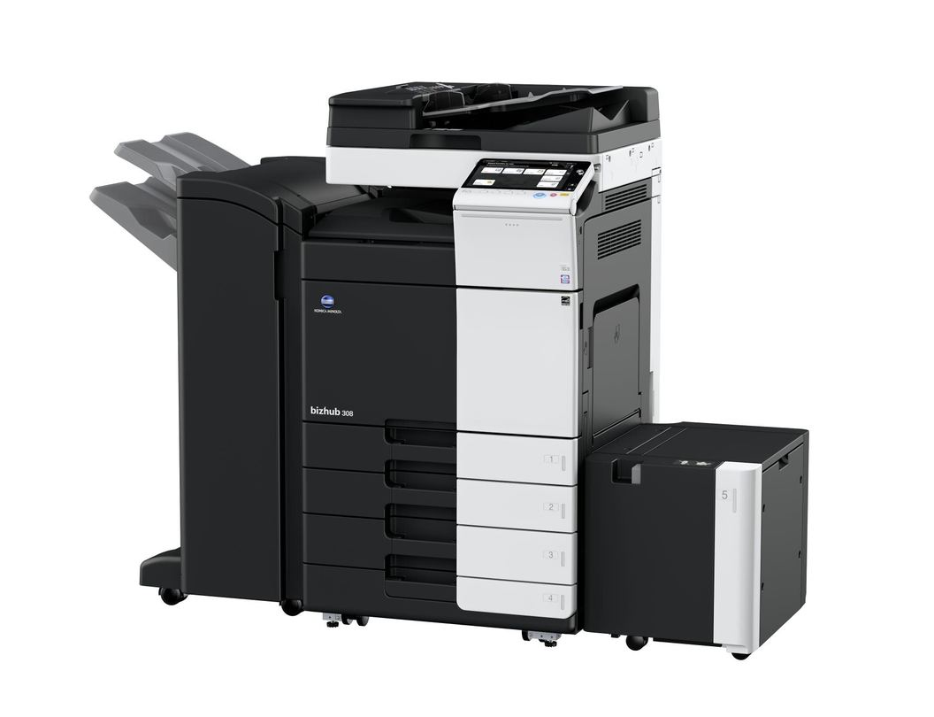 Konica Minolta Bizhub 308 printer available ot lease or purchase.