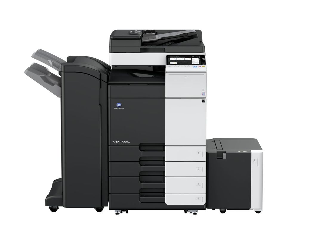 Konica Minolta Bizhub 368e printer available ot lease or purchase.