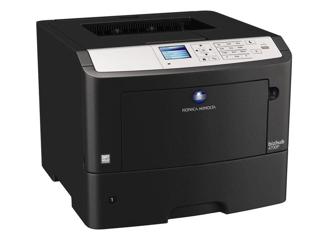 Konica Minolta Bizhub 4700P printer available ot lease or purchase.
