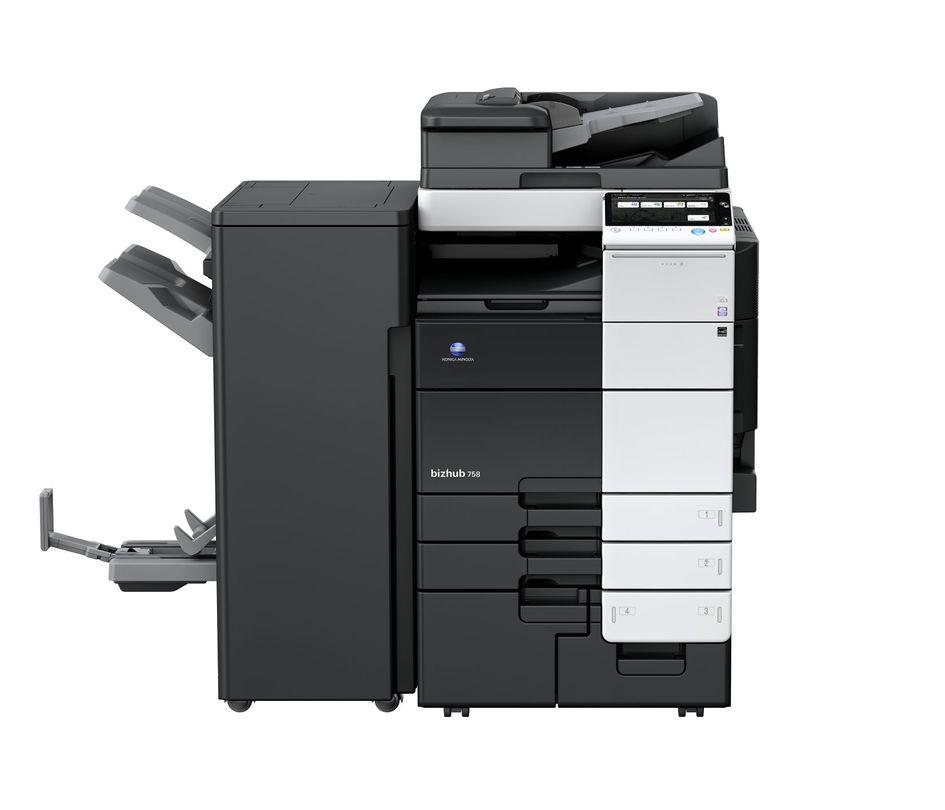 Konica Minolta Bizhub 758 printer available ot lease or purchase.