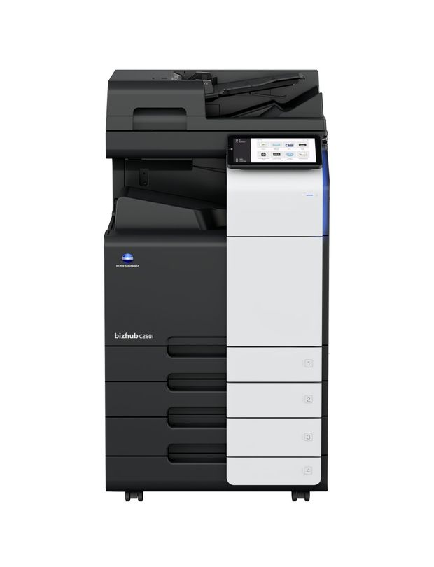 Konica Minolta Bizhub C250i printer available ot lease or purchase.