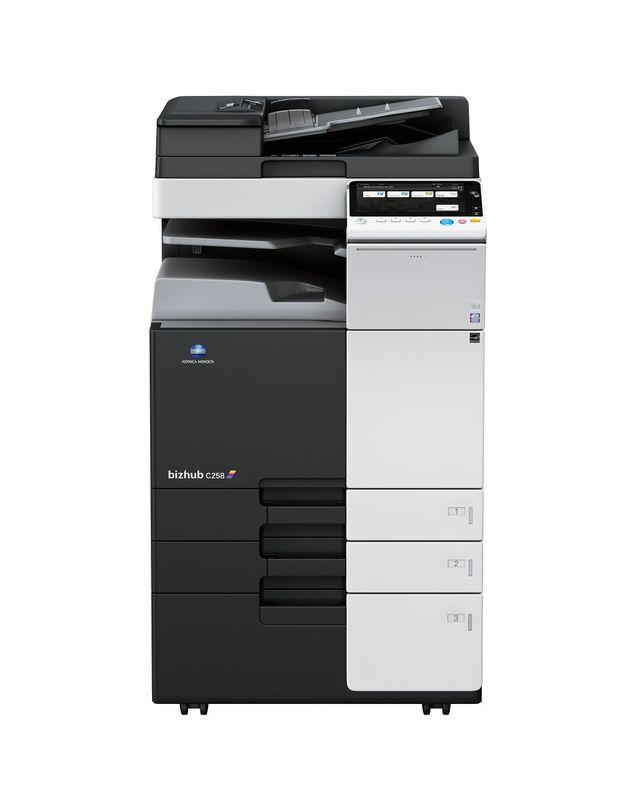 Konica Minolta Bizhub C258 printer available ot lease or purchase.