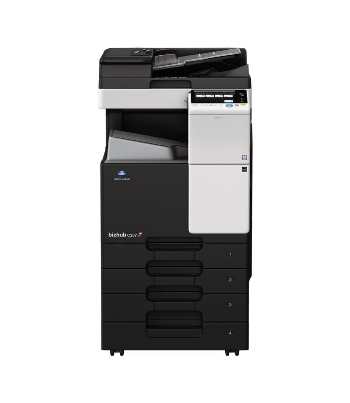 Konica Minolta Bizhub C287 printer available ot lease or purchase.