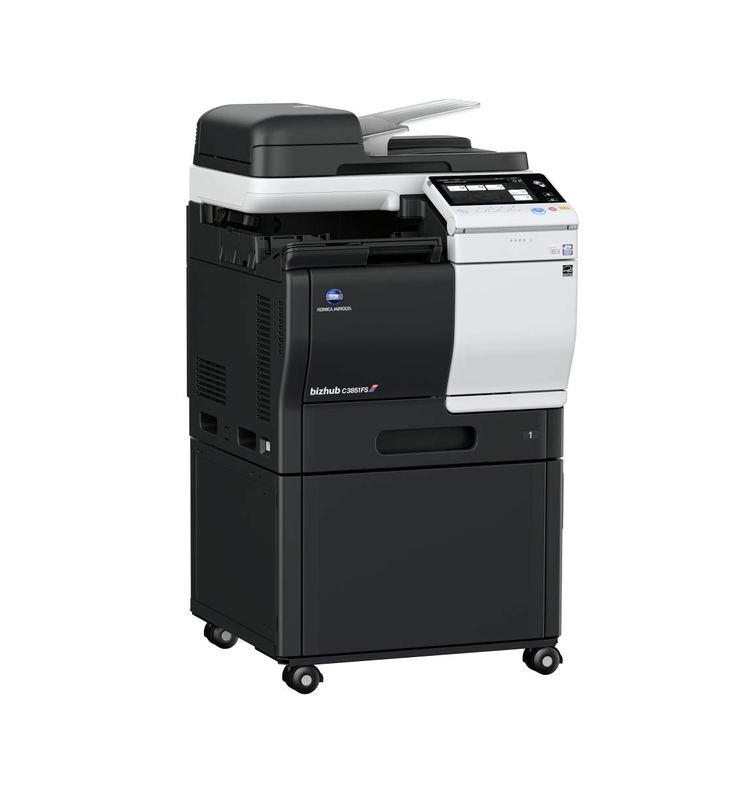 Konica Minolta Bizhub C3851FS printer available ot lease or purchase.
