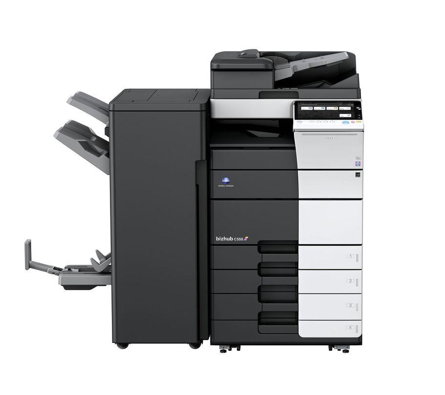Konica Minolta Bizhub C558 printer available ot lease or purchase.