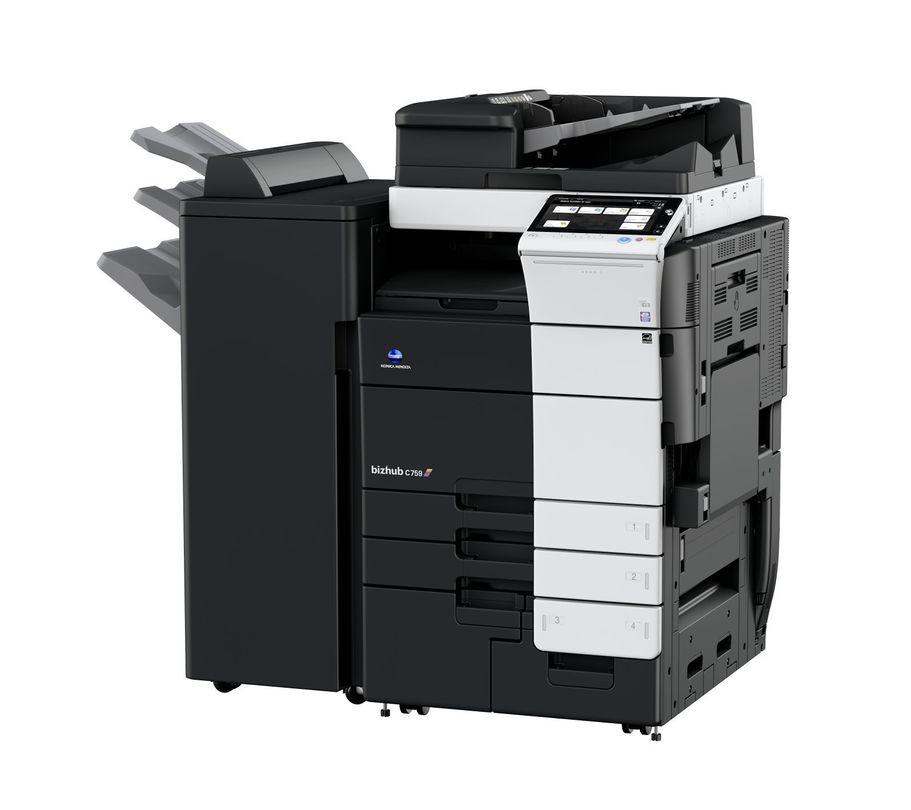 Konica Minolta Bizhub C759 printer available ot lease or purchase.