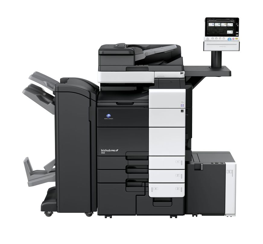 Konica Minolta Bizhub Pro 958 printer available ot lease or purchase.