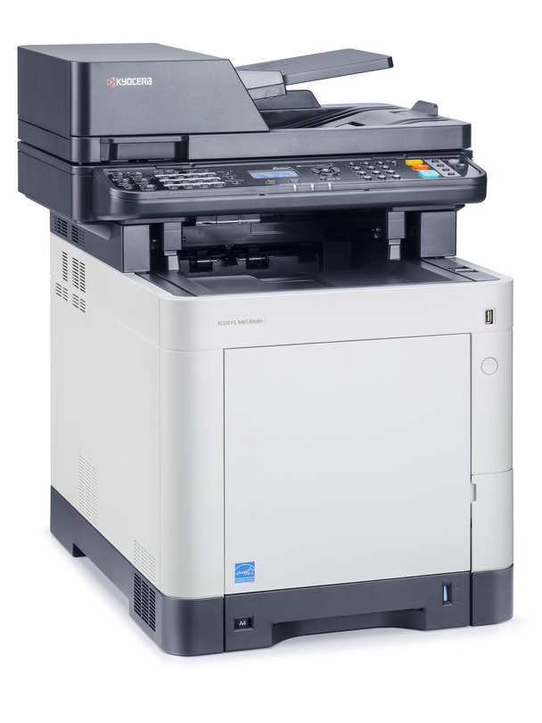 Kyocera ECOSYS M6530cdn printer available ot lease or purchase.
