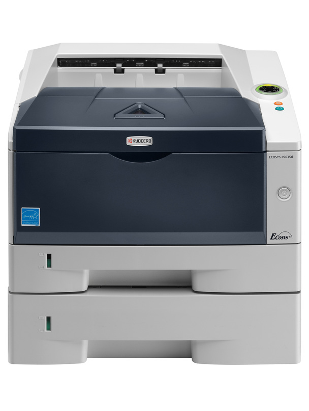 Kyocera ECOSYS P2035dn printer available ot lease or purchase.