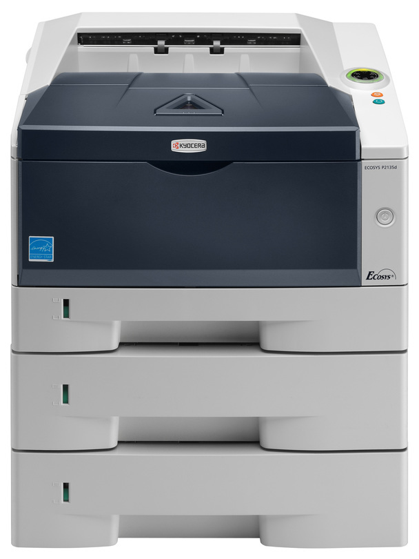 Kyocera ECOSYS P2135d printer available ot lease or purchase.