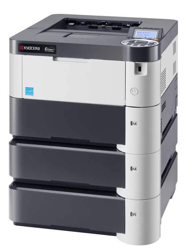 Kyocera FS-2100D printer available ot lease or purchase.